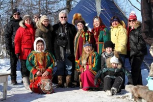 Project group gathered in Nenets in March 2012